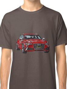 Audi RS6 Quattro Pen and Ink Sketch Classic T-Shirt