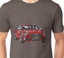 Audi RS6 Quattro Pen and Ink Sketch Unisex T-Shirt