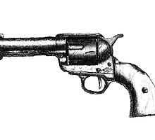 Sketchy Revolver by Ben Baldwin-Davies