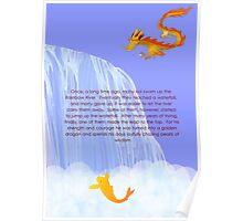 How a koi becomes a dragon Poster