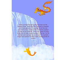 How a koi becomes a dragon Photographic Print