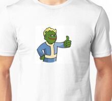 'Pepe' the Smug 'Vault' Boy Unisex T-Shirt
