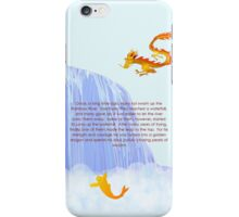 How a koi becomes a dragon iPhone Case/Skin