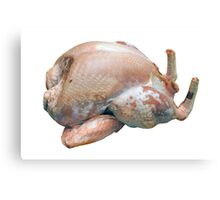 Turkey Raw and Plucked Canvas Print