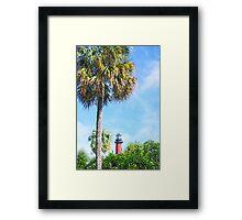 Jupiter Lighthouse Framed Print