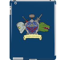 Geeks Rule Pocket Motif iPad Case/Skin
