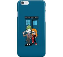 Madman in a Blue Box iPhone Case/Skin