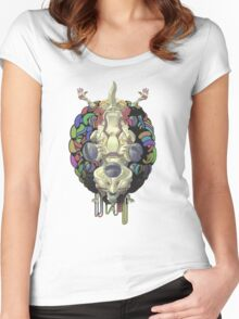 Robot God - Trinity 2.0 Women's Fitted Scoop T-Shirt