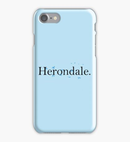 shadowhunter Herondale family iPhone Case/Skin