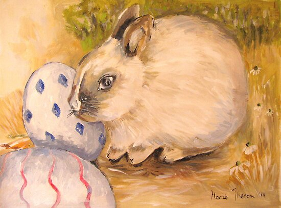 Vanilla and the Easter Eggs by Marie Theron