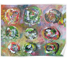 Abstract Expressionism 8 Poster