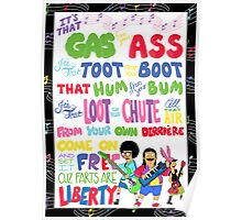 Fart School Anthem Poster