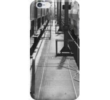 Where trains meet iPhone Case/Skin