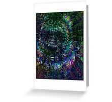 Terence McKenna Tribute Poster Greeting Card