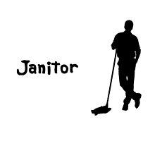 Janitor by darkdrake