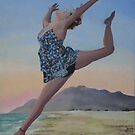 Dancing on the Beach by Gary Hogben