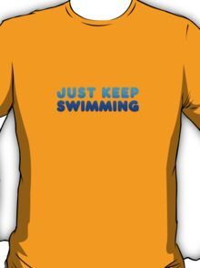 Finding Nemo - Just Keep Swimming T-Shirt