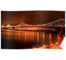 Bay Bridge - San Francisco Poster