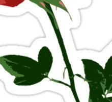Beautiful Rose Flower Sticker