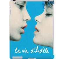 Blue is the Warmest Color poster iPad Case/Skin
