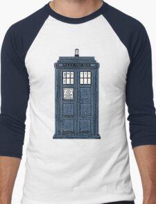 The TARDIS Men's Baseball ¾ T-Shirt