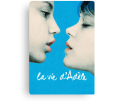 Blue is the Warmest Color poster Canvas Print