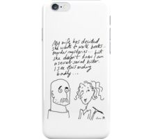 Married to a writer... iPhone Case/Skin