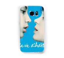 Blue is the Warmest Color poster Samsung Galaxy Case/Skin