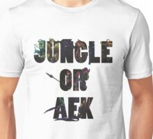 Jungle or Afk Unisex T-Shirt
