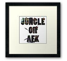 Jungle or Afk Framed Print