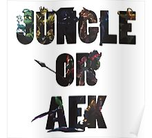 Jungle or Afk Poster