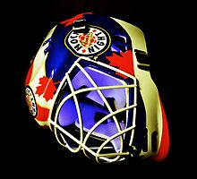 Hockey Night in Canada Goalie Mask by HellGateStudios