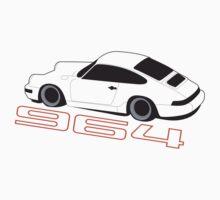 Porsche 964 Graphic One Piece - Long Sleeve