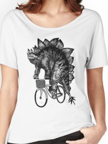 Stegosaurus Funny Women's Relaxed Fit T-Shirt