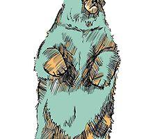 standing bear by Lauren Hughes