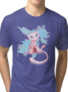 Gamer Mew Tri-blend T-Shirt