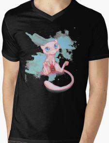 Gamer Mew Mens V-Neck T-Shirt