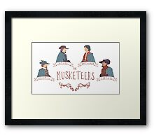 The Musketeers Framed Print