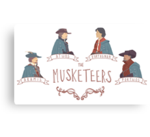 The Musketeers Canvas Print