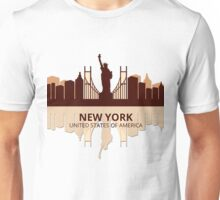 New York USA Unisex T-Shirt