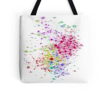 The Graph Of Soccer Teams Tote Bag
