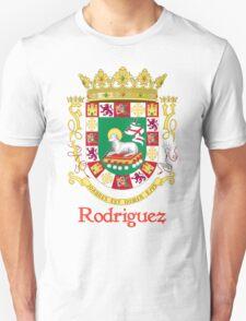 Rodriguez Shield of Puerto Rico T-Shirt