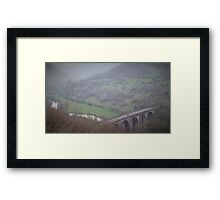 Monsal Head Viaduct, Peak District Framed Print