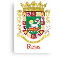 Rojas Shield of Puerto Rico Canvas Print