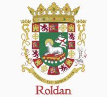 Roldan Shield of Puerto Rico Baby Tee