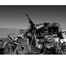 Army mobile equipment Photographic Print