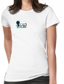 OLD SLANG Womens Fitted T-Shirt