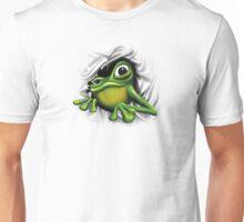 Cool 3D Frog Unisex T-Shirt