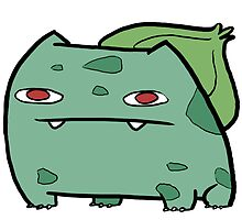 Doodlemon #001: Bulbasaur by phantomdoodler