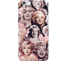 Marilyn Monroe Collage iPhone Case/Skin